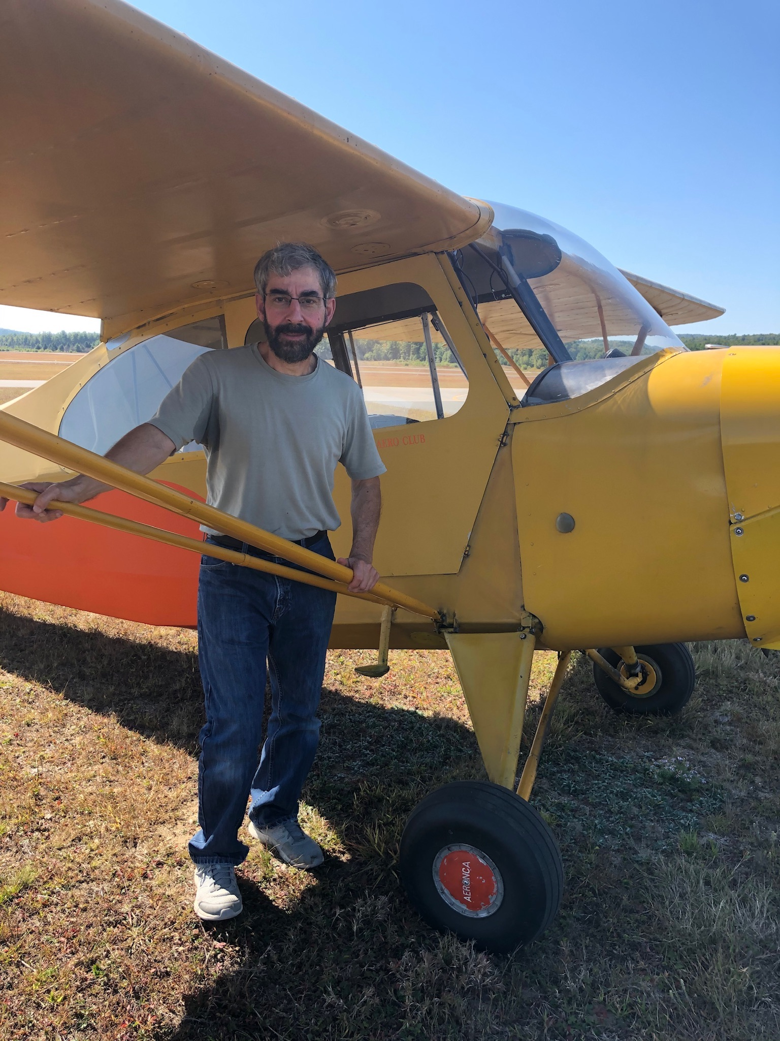 Eduardo :Tailwheel Endorsement