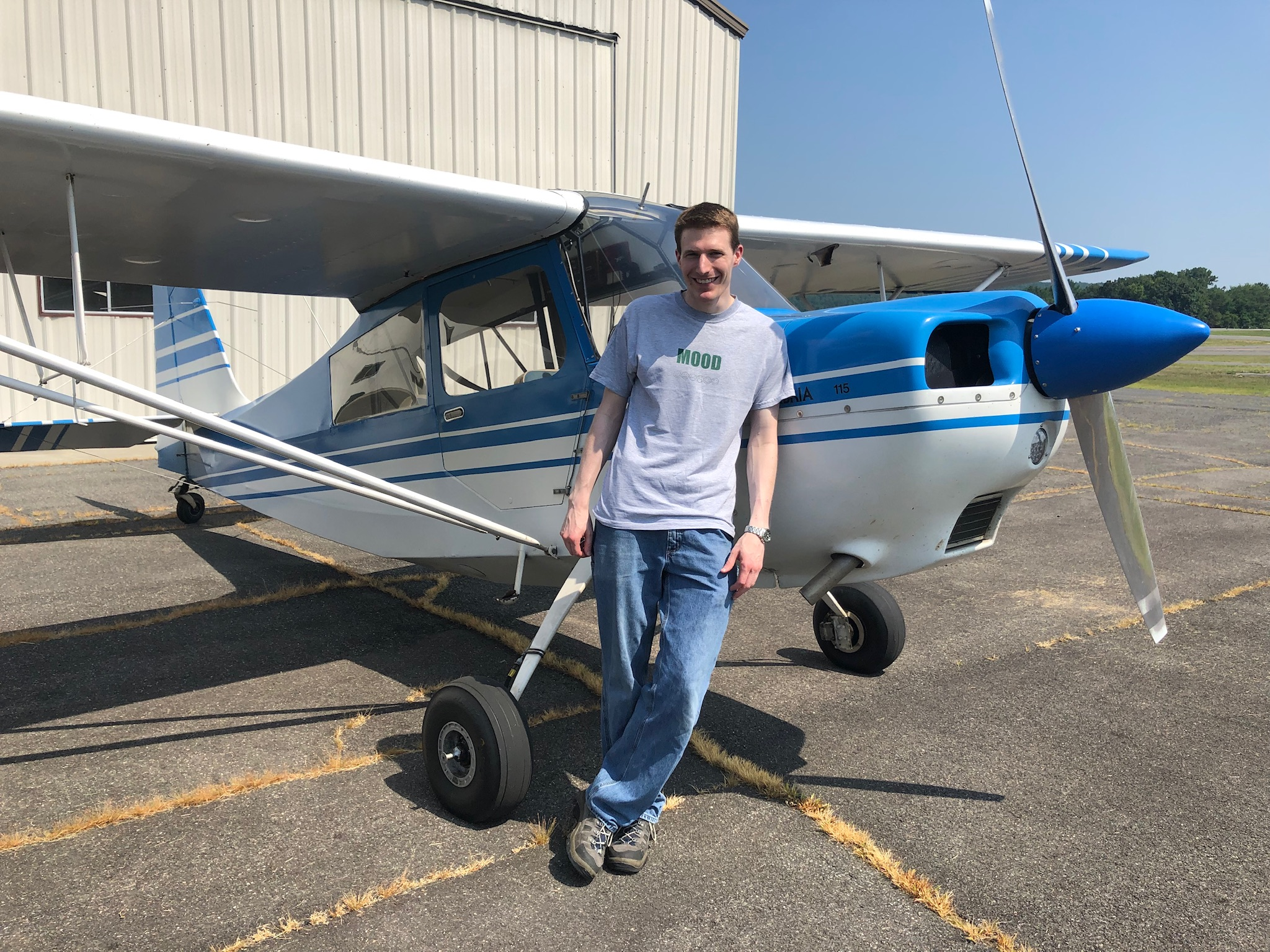 Curtis: Tailwheel Endorsement 07/27/19