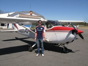 Ryan M: Solo 04-17-2013  Private Pilot 05-13-2014