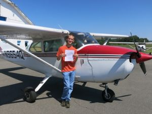 Jamie P: Private Pilot 08-26-2014