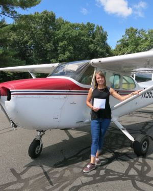Heather G: Private Pilot 08-15-2016